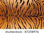 Stripped Tiger Design
