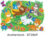 animals 539 | Shutterstock . vector #872869