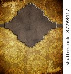vintage background  invitation... | Shutterstock . vector #87298417