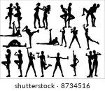 take exercise | Shutterstock .eps vector #8734516