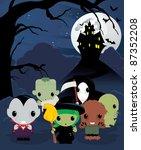 halloween | Shutterstock .eps vector #87352208