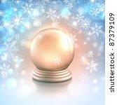 raster christmas card... | Shutterstock . vector #87379109
