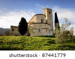 Tuscany   Montalcino  Church...
