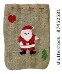 Homemade Small Christmas Bag...