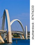 The JK Bridge in Brasilia