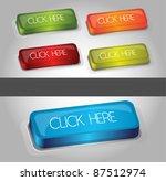 high quality web press push... | Shutterstock .eps vector #87512974