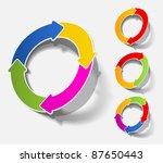 eps10  realistic design elements | Shutterstock .eps vector #87650443