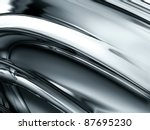 Abstract Gray Metal Pipes  ...