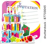 Party Vector Invitation