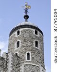Tower of London – The Round Tower - stock photo