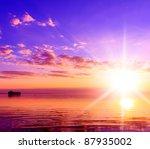idyllic heaven coast view | Shutterstock . vector #87935002