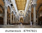 Inside Cathedral Of Pisa...