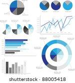 vector infographics | Shutterstock .eps vector #88005418