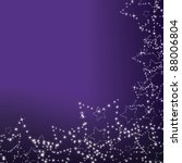 purple christmas background... | Shutterstock .eps vector #88006804