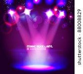 magical spotlight effect vector ... | Shutterstock .eps vector #88008829