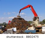 scrapyard scenery   Shutterstock . vector #8802475