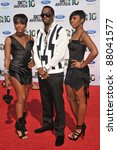 """Small photo of Dawn Richard, Sean """"P. Diddy"""" Combs & Kaleena at the 2010 BET Awards at the Shrine Auditorium, Los Angeles. June 27, 2010 Los Angeles, CA Picture: Paul Smith / Featureflash"""