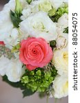 wedding bouquet at a wedding | Shutterstock . vector #88054075