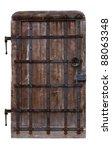 Antique Oak Doors Reinforced...