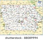 Iowa State Map