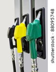 the image of petrol pump | Shutterstock . vector #88095748