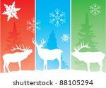 vector holiday background with... | Shutterstock .eps vector #88105294