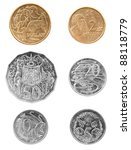 Set Of Australian Coin Currency ...