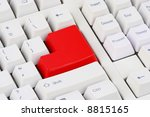 different   white keyboard with ...   Shutterstock . vector #8815165
