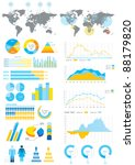 vector elements set of... | Shutterstock .eps vector #88179820