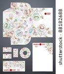 stationery set  eps10 | Shutterstock .eps vector #88182688