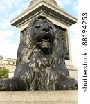 One Of The Lions On Trafalgar...