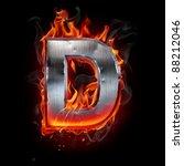 hot metal letter | Shutterstock . vector #88212046