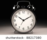 classic clock  3d model    Shutterstock . vector #88217380