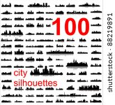 City Silhouettes Of The Most...
