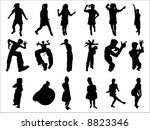 dance | Shutterstock .eps vector #8823346