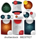 web elements collection | Shutterstock .eps vector #88237927