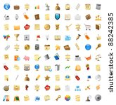 100 Detailed Vector Icons For...