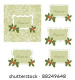 christmas card. | Shutterstock .eps vector #88249648