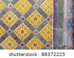 pattern of thai art | Shutterstock . vector #88372225