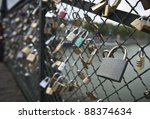 padlocks and love on paris...