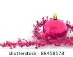 Christmas Background Isolated
