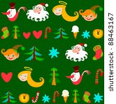 christmas background. can be... | Shutterstock . vector #88463167
