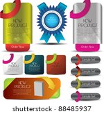 web elements collection | Shutterstock .eps vector #88485937