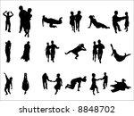 man | Shutterstock .eps vector #8848702