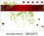 valentines day background  ... | Shutterstock .eps vector #8852872