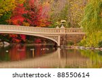 Fall Colors At Bow Bridge In...