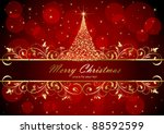 abstract background with golden ...
