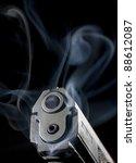 semi automatic handgun that is... | Shutterstock . vector #88612087