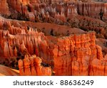 bryce canyon at sunrise as... | Shutterstock . vector #88636249