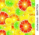 citrus background | Shutterstock . vector #88697926